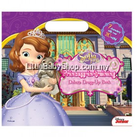 Sofia the First Princess in Training Deluxe Dress-Up Book
