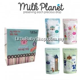 Milk Planet MY Little One Fairy Tale Double Ziplock Breastmilk Storage Bag 5oz/150ml