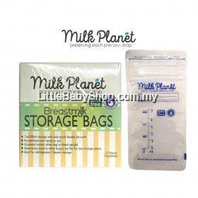 Milk Planet Double Zip-Lock Breastmilk Storage Bags 7oz