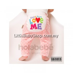 Holabebe: LG1015-Dad Mom Love Me Holabebe Pants