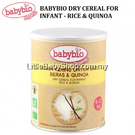 [CLEARANCE] Babybio Dry Cereal for Infant (Rice & Quinoa) 220g (Exp: Oct 2020)