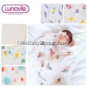 Lunavie Swaddle Muslin Blanket 100% Cotton