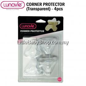 LUNAVIE Corner Protector (Transparent) - 4pcs/Set