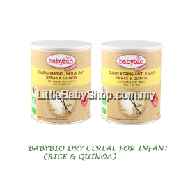 Babybio Dry Cereal for Infant (Rice & Quinoa) 220g x 2