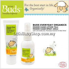 Buds Mozzie Clear Lotion 75ml