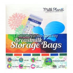 Milk Planet Premium Double Zip-Lock Breastmilk Storage Bags 7oz/200ml
