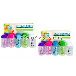 Milk Planet-Breast Milk Storage Bottle (Assorted Colors) 2Packs 20 Bottles