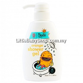 Buds For Kids Shower Gel Orange (350ml)
