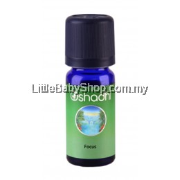 Oshadhi Synergy Blend Essential Oil, Focus 10ml