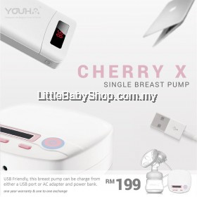 Youha Cherry X Single Electric Breast Pump