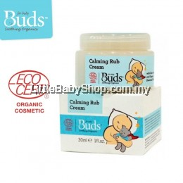 Buds Calming Rub Cream 30ml