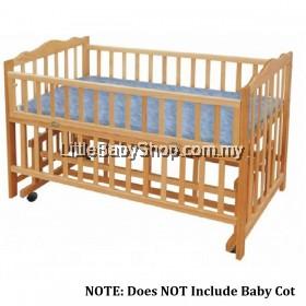 "OCA Baby Water Bed Mattress Baby Cot Size 48""x 24"" x1.5"""