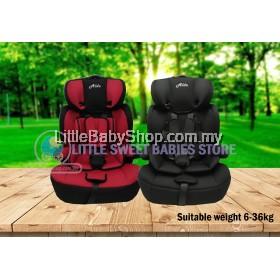 ALDO Booster Seat AL109 (9-36kg) - Red/Black