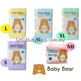 Baby Bear Diapers ( Size: S / M / L / XL / NB )
