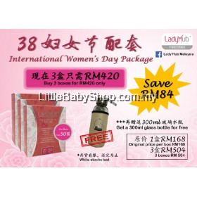 LADY HUB THE ESSENCE OF NATURE 20 SACHET Expiry Date: May 2021