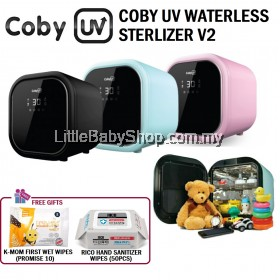 COBY UV Waterless Sterilizer V2 (with FREE gift)