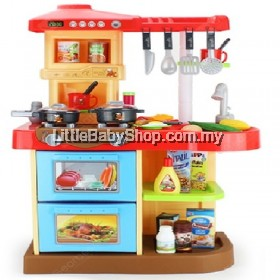 Children Cooking Toy Set Red (WYD-317)