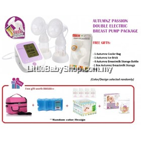 AUTUMNZ Passion Double Electric Breast Pump with Free Conversion Kit Package