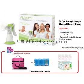 ARDO Amaryll Single Manual Breast Pump Package 4in1