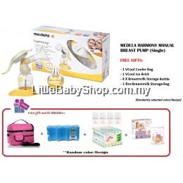Medela Harmony Manual Breast Pump Package