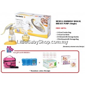 Medela Harmony Manual Breast Pump Package
