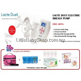Lacte Duet Electric Breast Pump Package