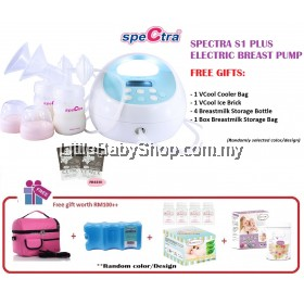 Spectra S1 Plus Double Electric Breast Pump Package