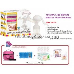 Autumnz JOY Manual Breast Pump Package