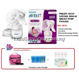Philips Avent Natural Manual Breast Pump Package