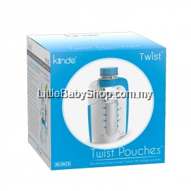 KIINDE Twist Pouch (40 Packs)