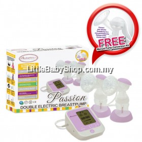 AUTUMNZ Passion Double Electric Breast Pump with Free Conversion Kit
