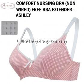 AUTUMNZ Comfort Nursing Bra (Non-Wired) Free Bra Extender - Ashley