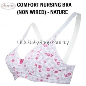 AUTUMNZ Comfort Nursing Bra (Non-Wired) Nature