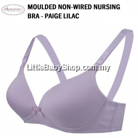AUTUMNZ Moulded Nursing Bra (Non Wired) Paige Lilac