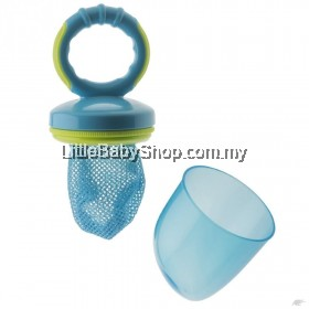 ROTHO BABYDESIGN Fresh Food Feeder with Hygiene Cap Aquamarine (Blue) 6months+