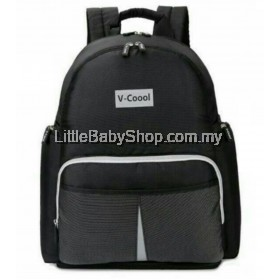 V-Coool Reflective Multifunctional Backpack - Black