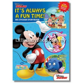 DISNEY Junior It's Always a Fun Time! Big Sticker Storybook