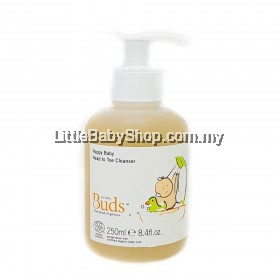 BUDS Cherished Organics Happy Baby Head to Toe Cleanser 250ml (Exp: Nov 2022)