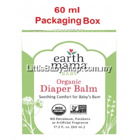 Earth Mama Organic Diaper Balm 60ml (Exp: Nov 2021)