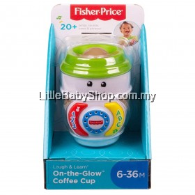 FISHER PRICE Laugh & Learn On-the-Glow Coffee Cup (6-36m)