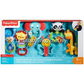 FISHER PRICE Playful Pals Gift Set 3m+