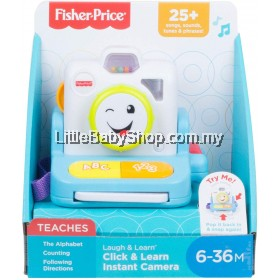 FISHER PRICE Laugh & Learn - Click & Learn Instant Camera (6-36M)