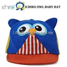 ICHIRO Baby Hat Owl - Blue