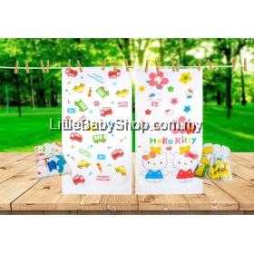 ICHIRO Cotton Towel with 3 Handkerchiefs (60cm x 120cm) - Happy Drive / Hello Kitty