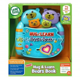 LEAPFROG Hug & Learn Bears Book 6m+