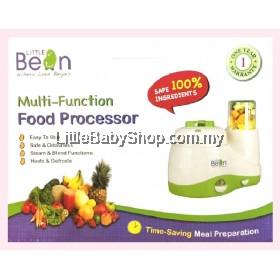 LITTLE BEAN Multifunction Food Processor (Steamer & Blender) - Free Food Storage Cup