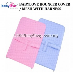 BABYLOVE Bouncer Cover/Mesh with Harness (Pink)