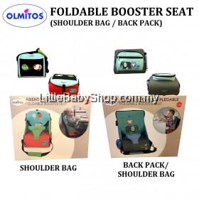 OLMITOS Foldable Booster Seat (Shoulder Bag / Back Pack)