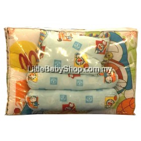 Pal Brands Doraemon 4Pcs Baby Mattress Set - Blue