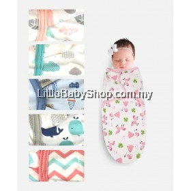 EARTH BEBE Swaddle Adjustable Infant Wrap